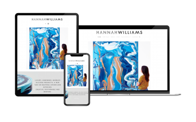 Website Design for Hannah Williams