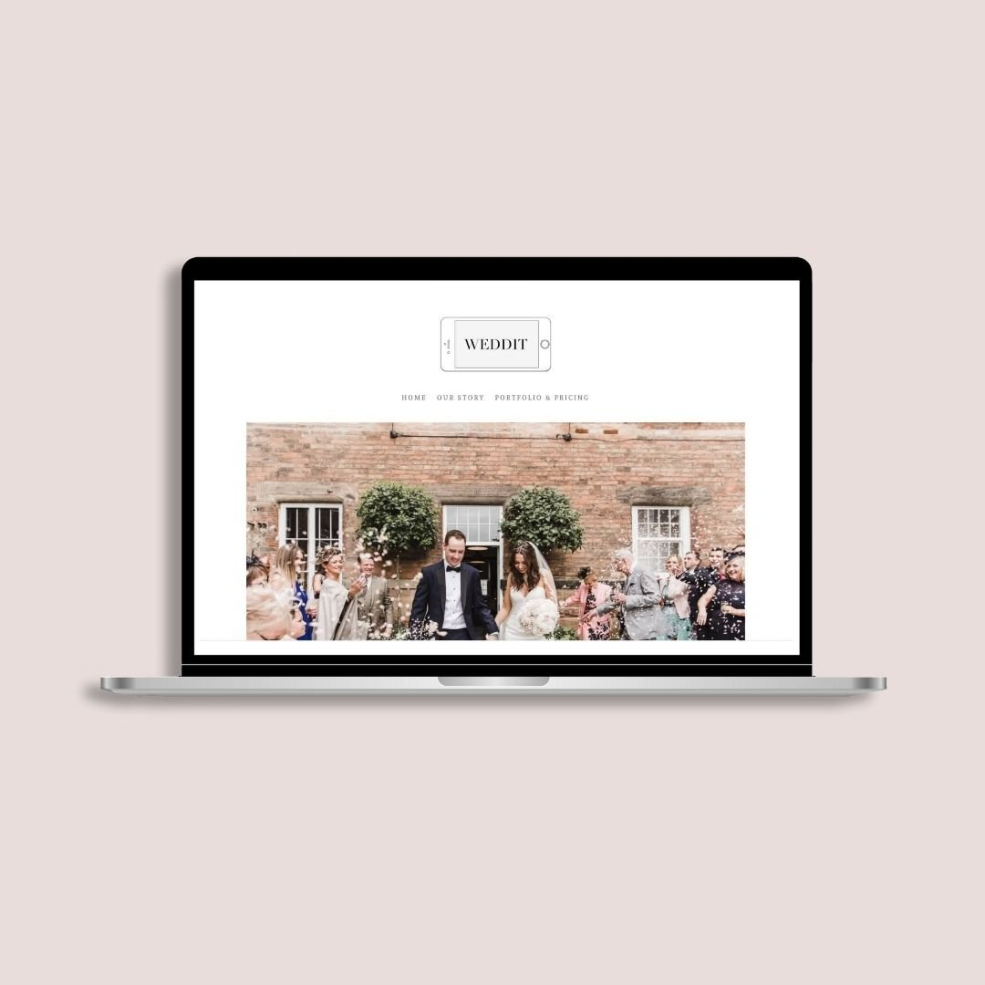 HEY Pear website design and branding for small business